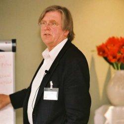 Arjo Klamer op het congres van De Arnhemse Methode