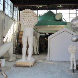 Atelier Space cowboys ( Dedden en Keizer) Visman groot en klein model