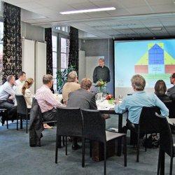 Marcel Sturkenboom op inspiratiebijeenkomst van De Arnhemse Methode