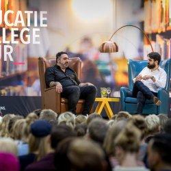 Nijmegen, 1 oktober 2019Educatie College tour met Sinan Can